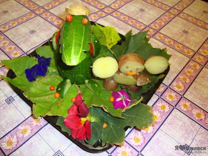 Поделки из овощей картошки - Поделки из природы
