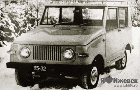 """Полноприводный джип  """"Иж-5 """" В 70-х годах прошлого века ижевские конструкторы стали..."""