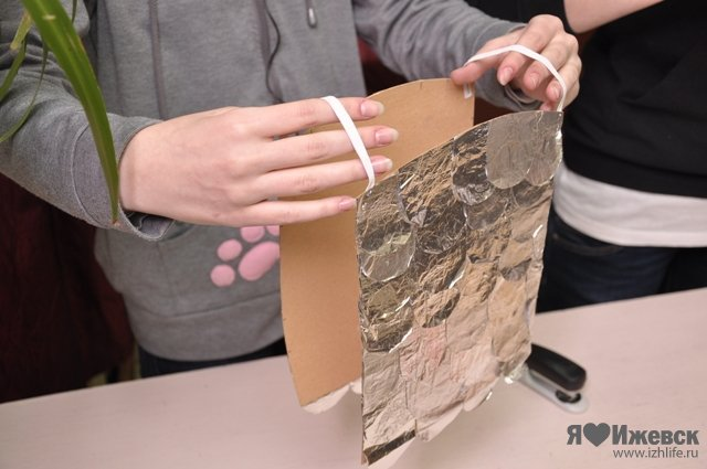 Как сделать фольгированную бумагу