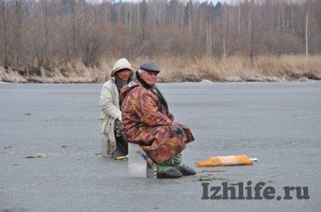 рыбалка в ижевске на ижевском пруду