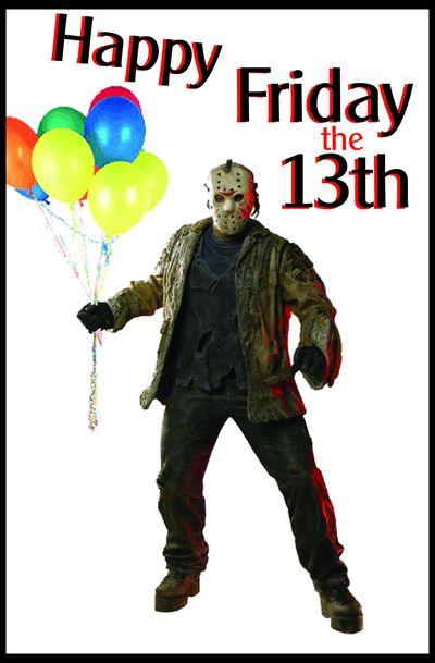 День рождения в пятницу 13 поздравления