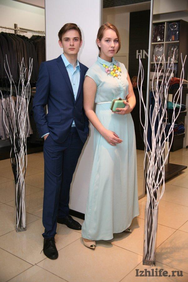Платье и костюм на выпускной
