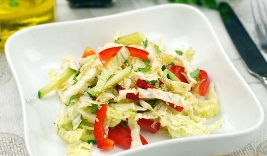 Салат с пекинской капусты с фото