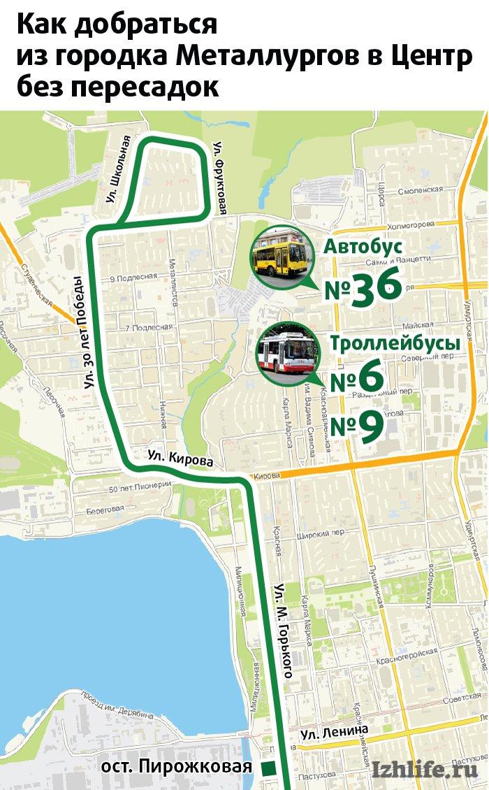 Схема движения автобусов в ижевске фото 944