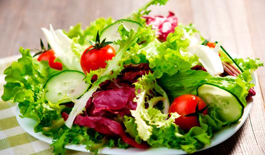Салаты с овошей фото