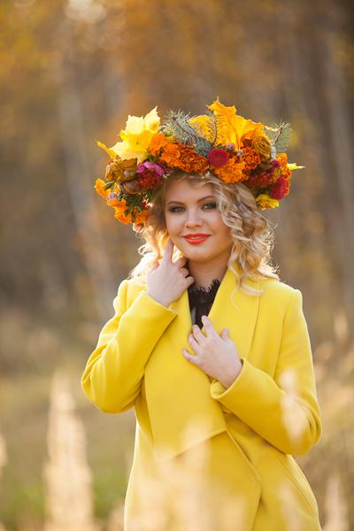 Прически для мисс осень