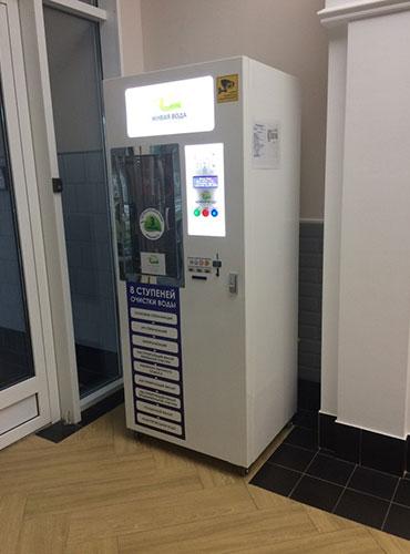 Автомат розлива растительного масла и бытовой химии