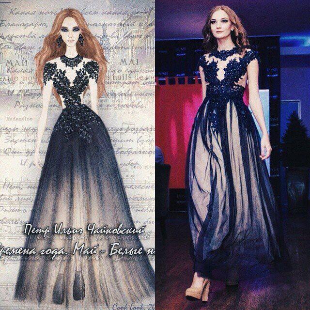 960bc082733bfa5 Ижевские дизайнеры: Лидия Сбоева одновременно шьет свадебные платья ...