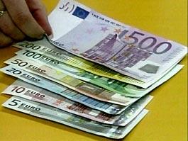 Курс евро опустился ниже 41 рубля
