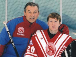 Юный хоккеист из Удмуртии чуть не попал во вратарскую школу Владислава Третьяка