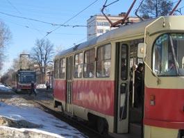 В Ижевске около часа трамваи не ходили в городок Металлургов