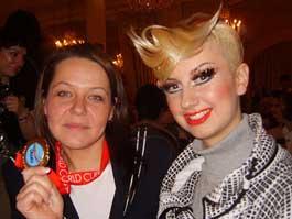 Ижевский парикмахер вернулась с Чемпионата мира с двумя медалями