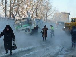 В Воткинске затопило центральную площадь