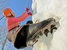 Ижевчанка заняла 4-е место на этапе Кубка России по ледолазанью