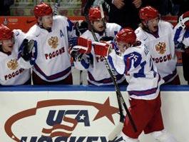 Российские хоккеисты попали в полуфинал молодежного чемпионата мира