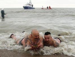 В Бельгии в море выбросились 5 тысяч человек-моржей