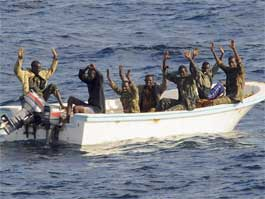 Пиратов в Сомали будут