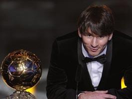 Лионель Месси назван лучшим футболистом 2010 года