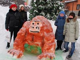 В Ижевском зоопарке появятся звери из снега