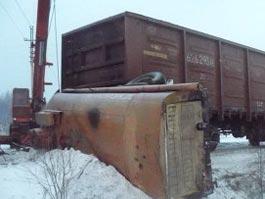 В Иркутской области столкнулся бензовоз и поезд