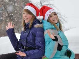 Как ижевчане отмечали новогодние каникулы
