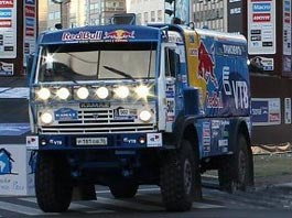 Россиянин Чагин лидирует после 11-го этапа ралли «Дакар»