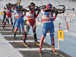 В Ижевске из-за морозов изменилась программа кубка России по биатлону