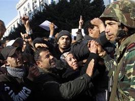 В Тунисе в ходе беспорядков погибли более 100 человек
