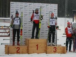Спортсмен из Удмуртии выиграл индивидуальную гонку среди юниоров на пятом этапе Кубка России по биатлону