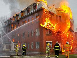За три дня праздников в Удмуртии произошло 18 пожаров