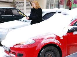 За сутки в Ижевске выпало 5 см снега
