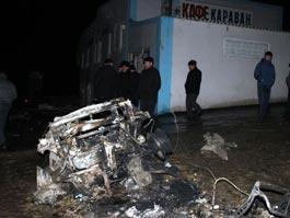 В Дагестане у кафе взорвалась мощная бомба