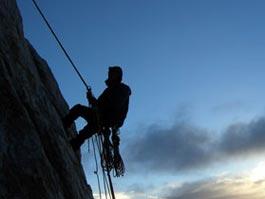 Альпинист выжил, упав с высоты 305 метров