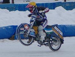 Спортсмен из Удмуртии стал вторым в финале Кубка России по мотогонкам на льду