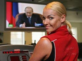 Балерина Волочкова обматерила «Единую Россию» и покинула ее