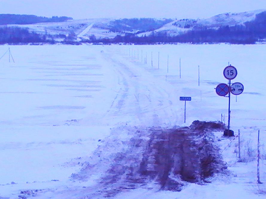В Удмуртии в очередной раз повысили грузоподъемность ледовых переправ