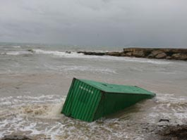 У берегов Южной Кореи затонуло судно с российским экипажем