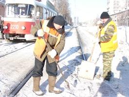 В Ижевске из-за обильных снегопадов не хватило места на «снегосвалке»