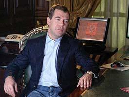 Медведева назвали главным блоггером российского Интернета