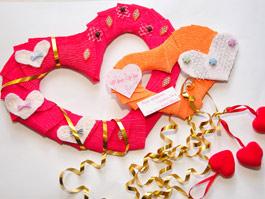 Дошкольники Ижевска организовали выставку валентинок