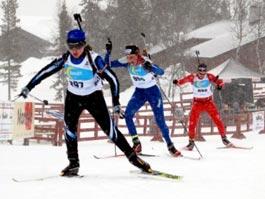 Биатлонистка из Удмуртии завоевала «бронзу» европейского Олимпийского фестиваля