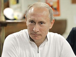 Владимир Путин подарил девочке медвежонка за стишок
