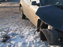 Смертельное ДТП в Удмуртии: водитель иномарки уснул и врезался в автобус