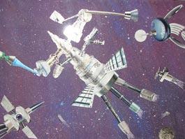 Ижевские дети нарисовали космос