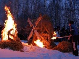 Ижевчане увидят огненные скульптуры