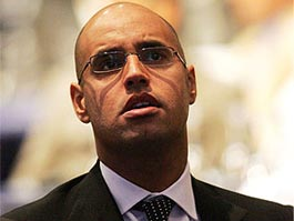Сын президента Ливии перешел на сторону оппозиции