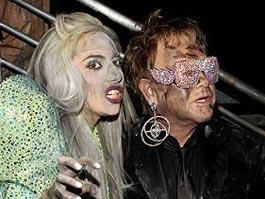 Крестной мамой сына Элтона Джона станет Леди Гага