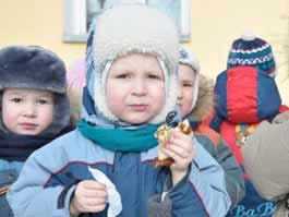 В детском саду Ижевска сожгли Масленицу