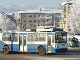 В Ижевске закрыли маршрут троллейбуса №5