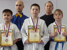 Юные бойцы из Ижевска выиграли турнир по рукопашному бою